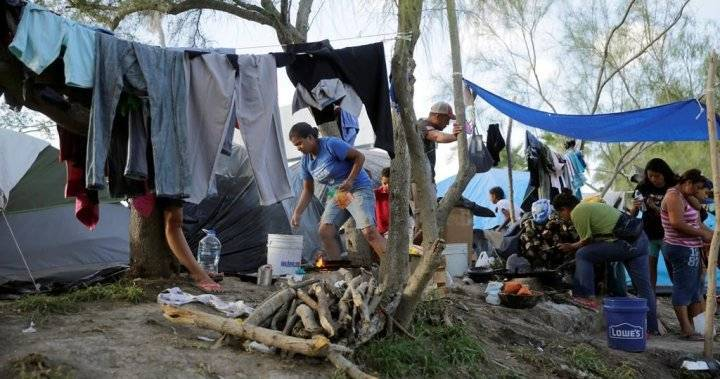 U.S. Mexico border refugee camp reports 1st COVID 19 case