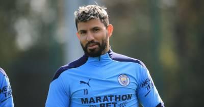 Sergio Aguero confirms testing positive for Covid-19 as Man City star self-isolates