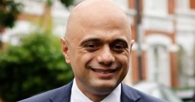 "Tory Sajid Javid slammed for claiming people should not ""cower"" from coronavirus"